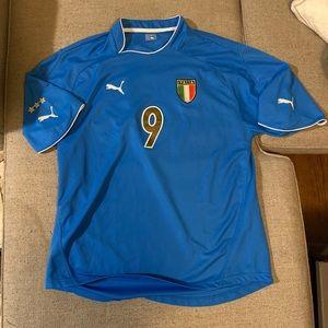 Mens Authentic Italia Soccer (futbol) Jersey!